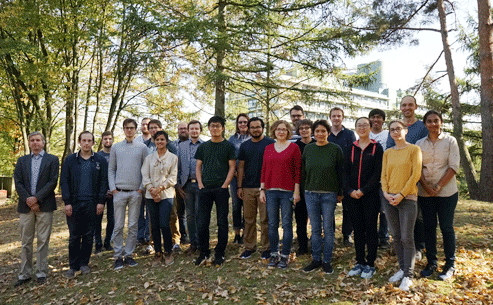 AMS group photo, October 2018.